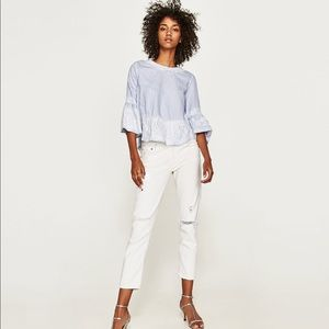 LAST CHANCE! Zara Blouse with lace details